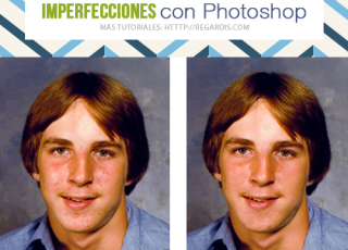 Cómo quitar acné y otras imperfecciones con Photoshop