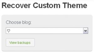 Cómo recuperar mi Tumblr Theme