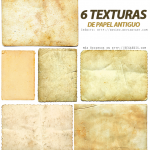6 Texturas de Papel Antiguo
