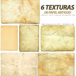 6 Texturas de Papel Antiguo
