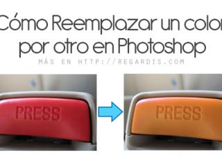 Tutorial Photoshop: Reemplazar un color por otro en una imagen