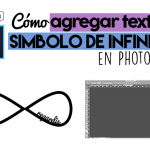 Cómo Crear Símbolo de Infinito con Nombre en Photoshop