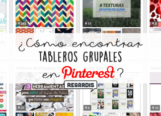 Cómo encontrar tableros grupales en Pinterest?