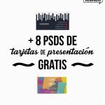 + 8 PSDs de Tarjetas de Presentación Gratis
