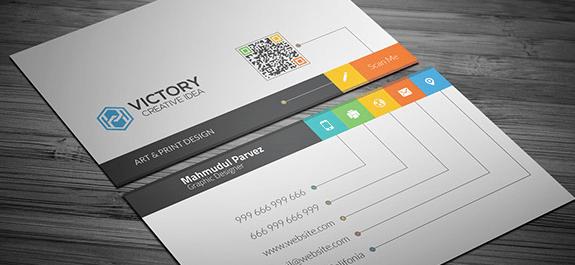PSD de Tarjeta de Presentación creativa gratis