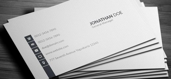 Descargar gratis tarjetas de presentacion para Photoshop