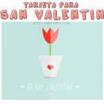 PSD Tarjeta de San Valentín gratis