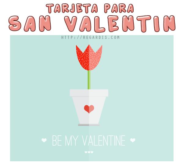 PSD de Tarjeta de San Valetín Gratis