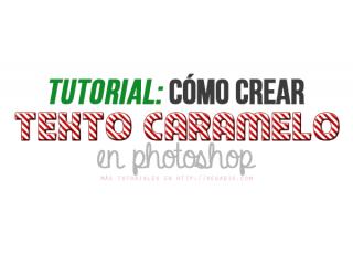 Tutorial: Cómo crear texto caramelo en Photoshop