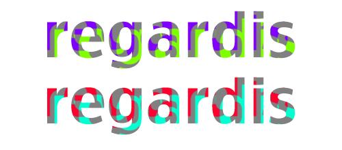 Texto Colorido, novedoso y psicodélico usando Photoshop