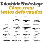 Crear texto deformado en Photoshop