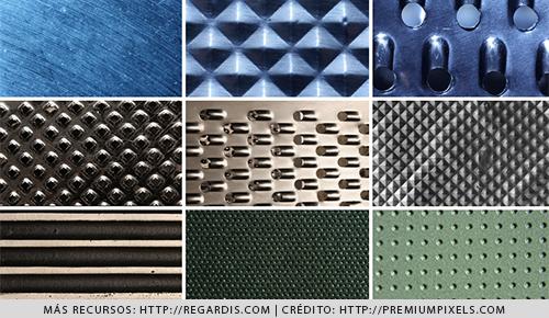 9 Texturas  de MetalHD Gratis