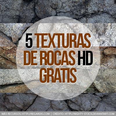 5 Texturas de Rocas HD Gratis