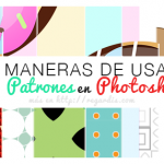 5 Maneras de usar Patrones (Motivos / Patterns) en Photoshop