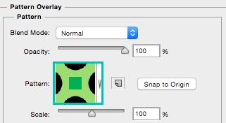 Cómo usar patrones en opciones de fusión en Photoshop