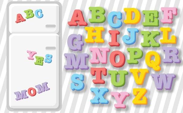 Vector de ABC para niños Educación