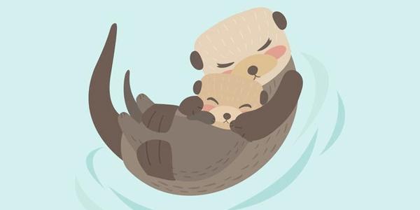 Vectores Día de La Madre - Amor de animales