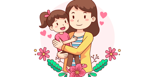 Vectores Día de La Madre - Madre e hija
