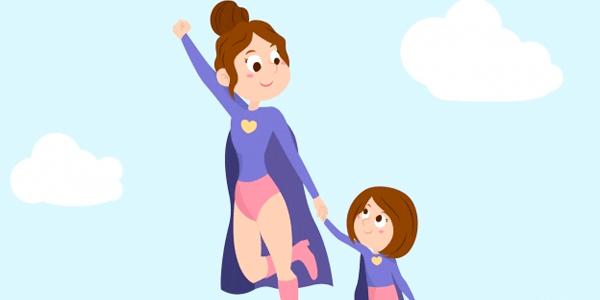 Vectores Día de La Madre - Madre heroina