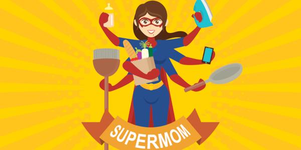 Vectores Día de La Madre - Super Mamá