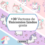+30 Vectores de Unicornios Lindos Gratis