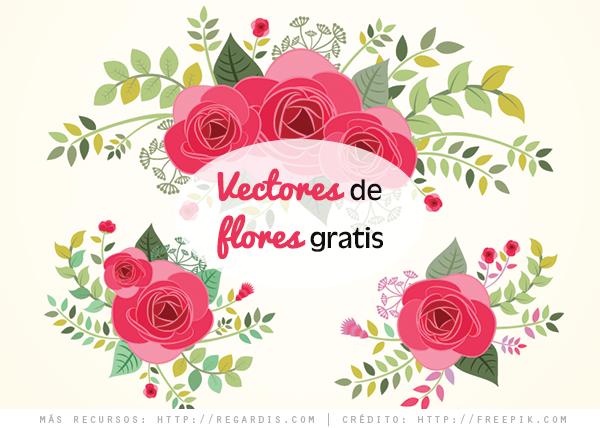 Vectores de Flores Gratis