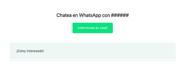 Abrir chat en WhatsApp con URL